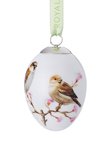 - Royal Copenhagen Spring Collection Easter Egg Sparrow
