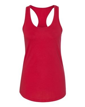 Next Level Apparel Women's Ideal Racerback Tank - X-Small - - Girl Red Racer