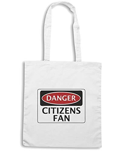 Bianca FAN MANCHESTER Speed Shopper WC0301 CITIZENS FOOTBALL Borsa Shirt CITY DANGER qxtw6Bz