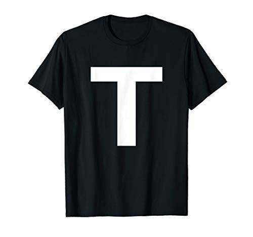 Alphabet Letter T (capital upper case) Tee Shirt]()