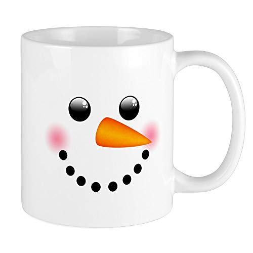 CafePress Snowman Face Mugs Unique Coffee Mug, Coffee Cup