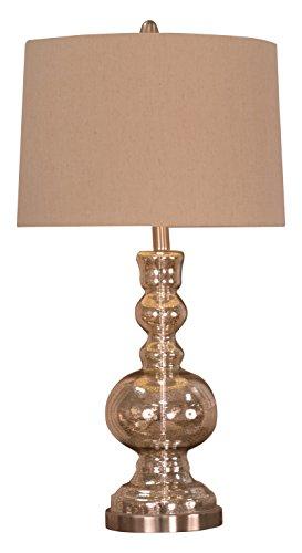 Mercury Nickel Table Lamp - 6