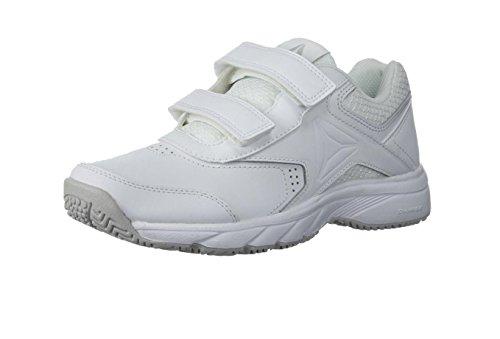 Reebok Women Work N Cushion 3.0 Walking Shoe White / Steel_w