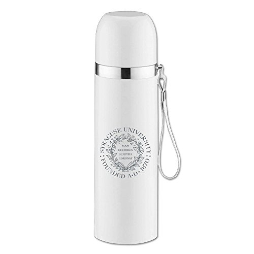 Price comparison product image POPYol Syracuse University Logo Stainless Steel Insulation CupTravel Mugs Leakproof Thermos