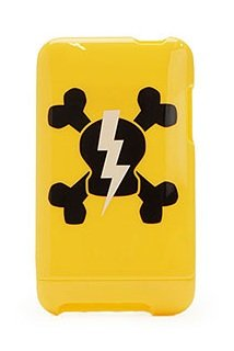 Paul Frank Hard Case for iPhone 3G & 3GS Yellow with Black Skurvy Lightning ()
