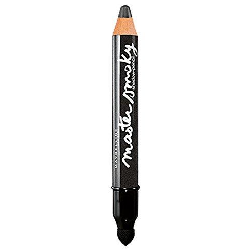 Maybelline New York Lidschatten-Stift Master Smoky Smoky Grey / Eyeshadow Pencil Grau für Smokey Eyes, mit integriertem Smudger, 1 x 1,8 g