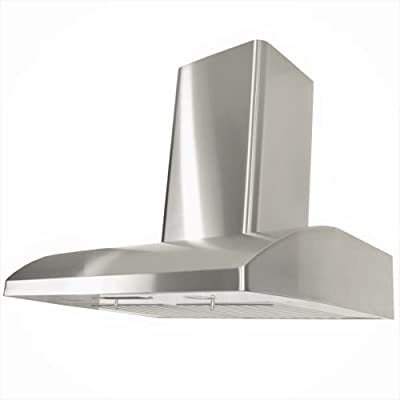 "KOBE Range Hoods Contemporary Brillia 24"" Wall Mount Range Hood"