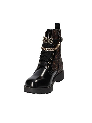Brown Nina Brown Brown Boots Women's High Guess SfAxTqT