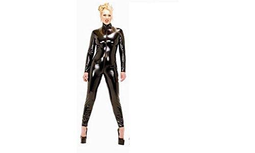 DIY Dominatrix Female Leather Costume Sexy Lingerie Tight...