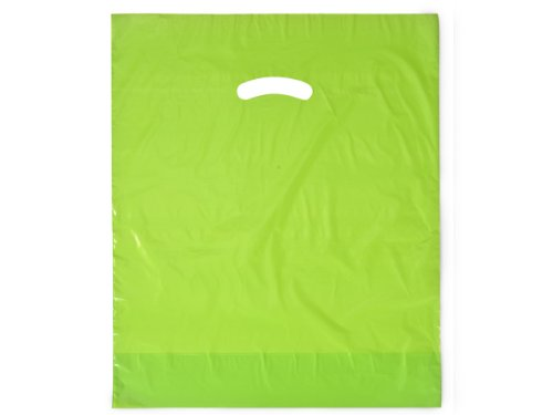 Citrus Super Gloss Bags 15x18x4'' Recycled Plastic Bags 1.25 mil (Unit Pack - 500) by Better crafts (Image #1)