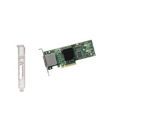 LSI Logic LSI LSI00188 SAS 8 External Ports SFF-8088 PCI-EXP, JBOD, w/ LP bracket, No cable Box RoHS