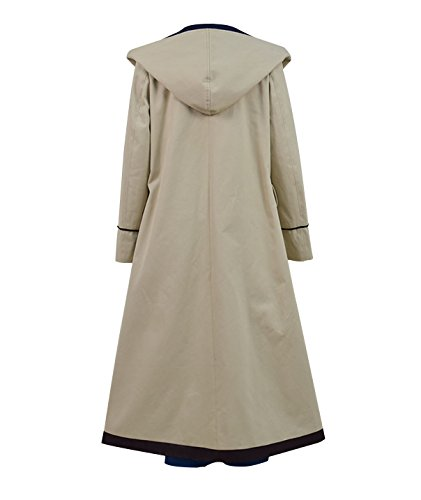 Very Last Shop Classic Sci-Fi TV Series 13th Doctor Costume Women Beige Trench Coat Overcoat (Beige Full Set, US Women-XXL) by Very Last Shop (Image #3)