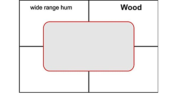 amazon com: pickup routing template- wide range wood: musical instruments