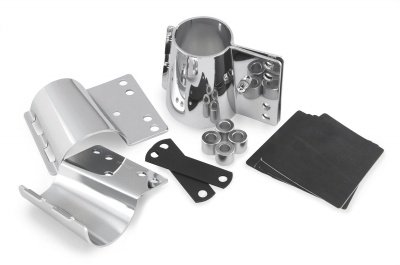 National Cycle Supplemental Hardware - Narrow Heavy Duty and Dakota 4.5 mm Thick Windshield Mount Kit For Honda VT1100C2 2000-2007 / VT750C 2004-2009 / VT750C/CD 1998-2003 (Dakota 4.5 Mm Windshield)