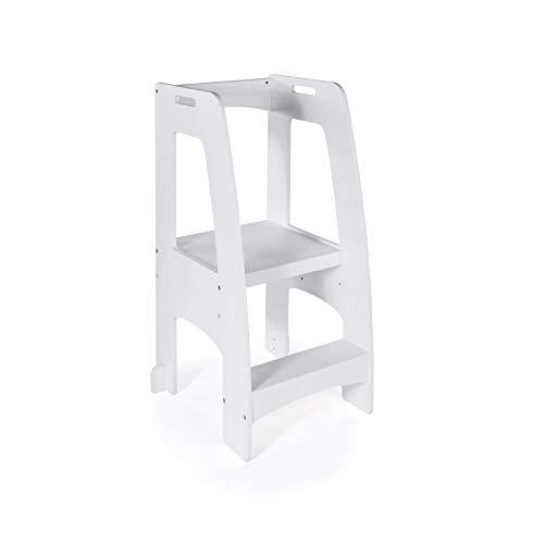 Outstanding Guidecraft Kitchen Helper Tower Step Up Gray Kids Wooden Camellatalisay Diy Chair Ideas Camellatalisaycom