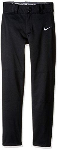 Nike Kids - STK Baseball Longball Pant (Little Kids/Big Kids) (Black/White), Large