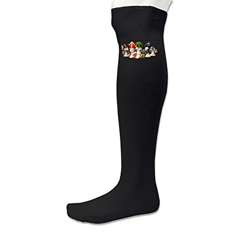 [EWIED Men's&Women's Worms W.M.D Volleyball SockBlack (1 Pair)] (Project M 35 New Costumes)