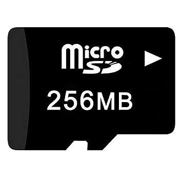 FidgetGear - Tarjeta de Memoria Micro SD (10 x 256 MB ...