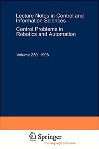 Control Problems in Robotics and Automation (Lecture Notes in