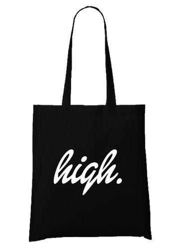 High Font Bag Black
