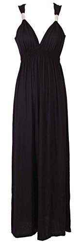 Likes Style Noir Robe Femme Noir rrwR4TqC