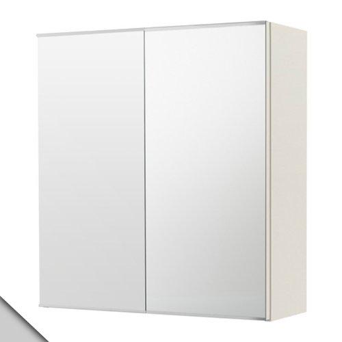IKEA - LILLÅNGEN Mirror cabinet with 2 doors, -