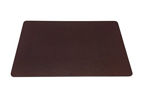 Maruse Desk Pad/Mat 25.6'' x 15.8'' - Made in Italy (Brown)
