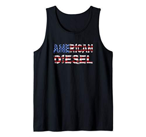 American Diesel Mens Diesel Power Mechanic Turbo Life Tank Top