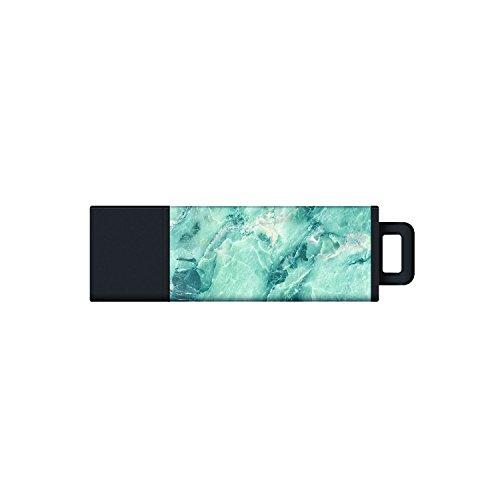 Centon Electronics S0-U2T27-64G USB 2.0 Datastick Pro2 (Marble-Aqua), 64GB from Centon