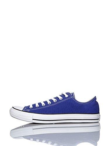 Converse All Star Ox Canvas - Zapatillas Unisex adulto Azul Eléctrico