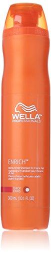 Wella Enrich Moisturizing Shampoo for Coarse Hair for Unisex, 10.1 Ounce