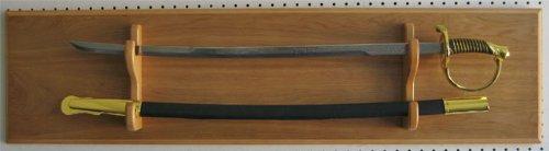 Com Sword Display Plaque Rack Holder Wall Alternative To Case Black Sports Outdoors