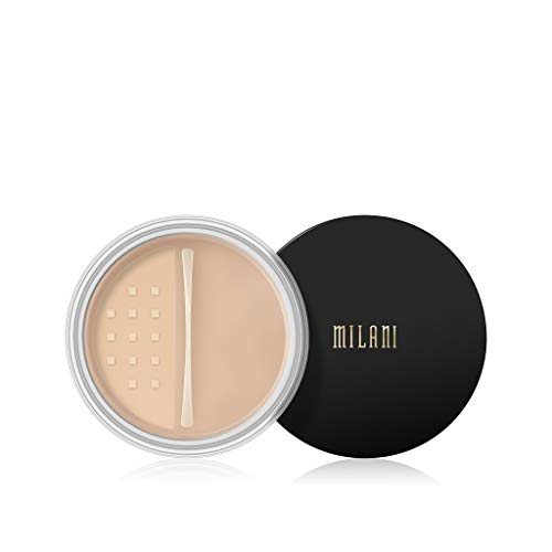 (Milani Make It Last Setting Powder - Translucent Natural (0.12 Ounce) Cruelty-Free Mattifying Face Powder that Sets Makeup for Long-Lasting Wear)