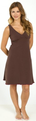 Organic Dress Sleepy (Majamas The Organic Sleepy Dress - Cocoa - X-Large)