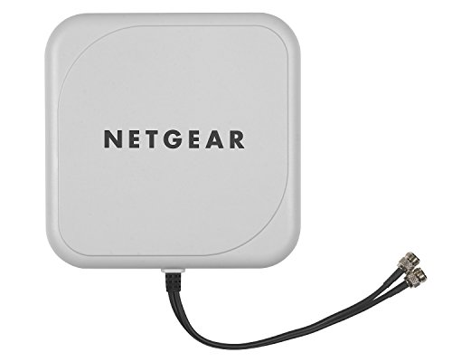 Netgear ANT224D10  ProSafe 10 dBi 2x2 indoor/outdoor directional antenna by NETGEAR