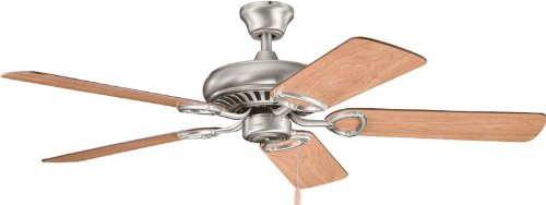 "Kichler 339011AP, Sutter Place Antique Pewter 52"" Ceiling Fan"
