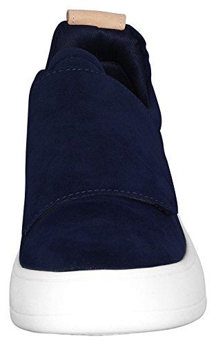 Cinturino Da Donna Di Smalto Low Top Fashion Sneaker Blu Scuro
