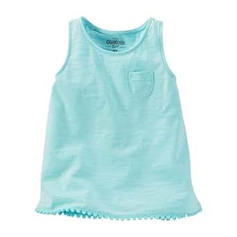 Oshkosh B'gosh Tank Top for Girls - Pale Turquoise