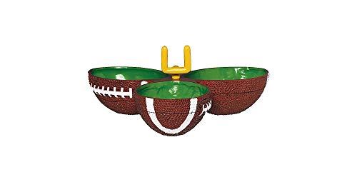 Amscan Football Condiment Party Dish ()