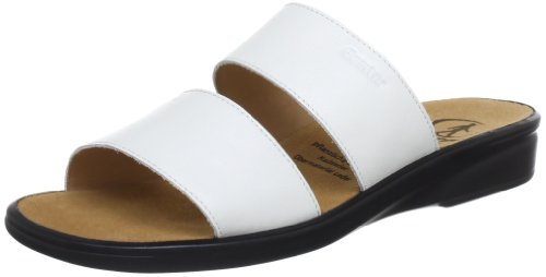 Ganter Women's Sonnica, Weite E Clogs And Mules Blanc (Blanc)