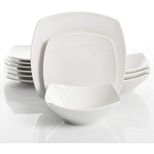 gibson home everyday square dinnerware