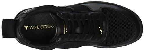 Bianco Shoes Black Black Gymnastics Smith Women's Racerr 001 Windsor wYqOXIx