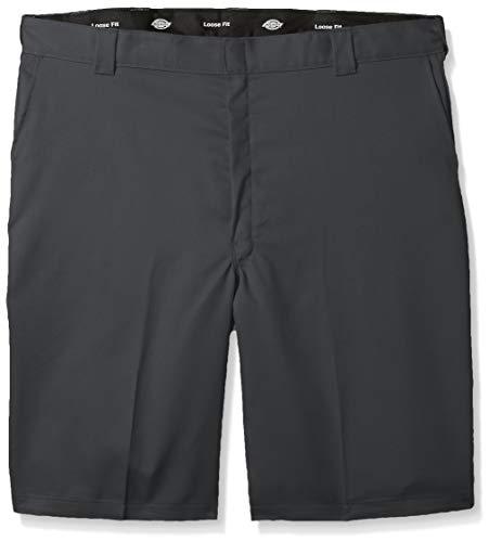 Dickies Men's 13 Inch Flex Multi-Pocket Work Short Loose Fit Big, Charcoal, -