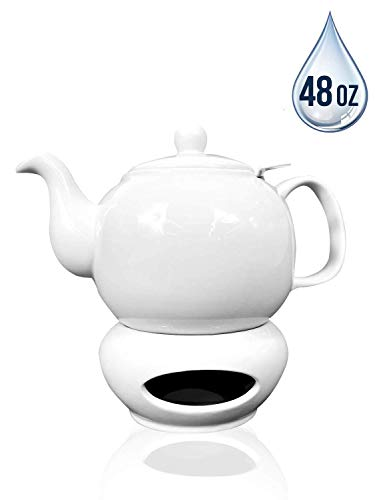 tea pot with candle warmer - 9