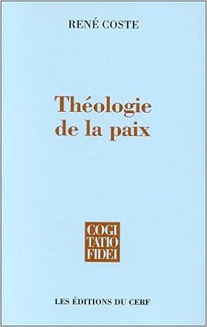 Livres Théologie de la paix pdf