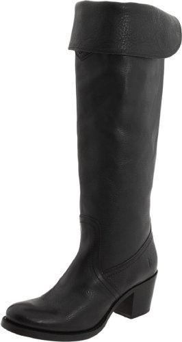 Cuff Boot Jane Frye Black Tall Women's WTqnt