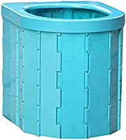 Portable Folding Toilet, Commode Porta Potty Car Toilet, Camping Toilet for Travel, Bucket Toilet Seat for Cam