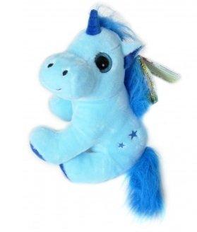 Les Licornes Magiques - Peluche Unicornio Azul 30cm - Muy buena calidad - Surtido de colores