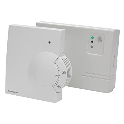 Honeywell Y6630D1007 Battery Powered Wireless Room Thermostat, 24 V