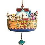 Enesco Jim Shore Heartwood Creek Noah's Ark Christmas Ornament #4006320